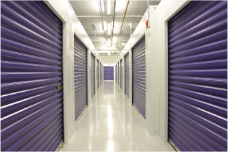 Stor-All Storage Purple Door Hallways