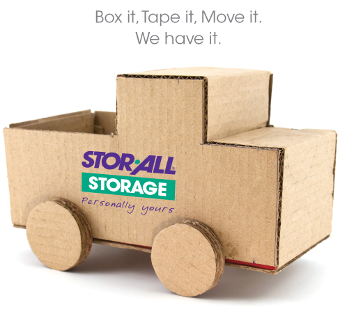 Stor-All Storage Box Made into Toy Car